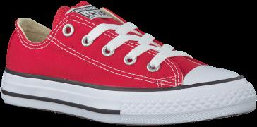 Converse Baskets CTAS OX KIDS en rouge