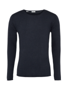 SELECTED HOMME, Heren Trui 'SHDDOME CREW NECK NOOS', donkerblauw