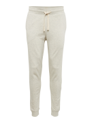 JACK & JONES, Heren Broek 'JJEHOLSWEAT PANTS NOOS', natuurwit