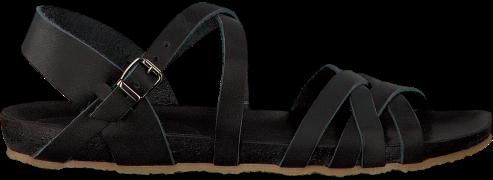 Zwarte Red-rag Sandalen 79160