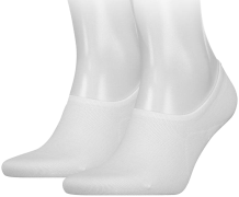 Tommy Hilfiger Chaussettes TH MEN FOOTIE en blanc