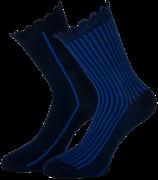 Marcmarcs Chaussettes AMY COTTON 2-PACK en bleu