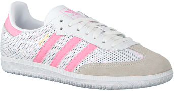 Adidas Baskets SAMBA OG J en blanc