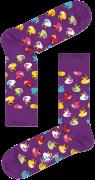 Happy Socks Chaussettes RUBBER DUCK SOCK en blanc