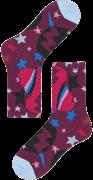 Happy Socks Chaussettes HYSTERIA VIOLA ANKLE SOCK en blanc