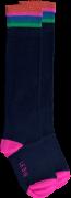Le Big Chaussettes PRESLEY KNEE HIGH en bleu
