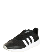 ADIDAS ORIGINALS, Dames Sneakers laag 'Flashback', zwart / wit