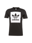 ADIDAS ORIGINALS, Heren Shirt 'SOLID BB T', zwart / wit