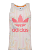 ADIDAS ORIGINALS, Heren Shirt 'Warped Stripes Tank', pink / wit
