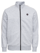 JACK & JONES, Heren Sweatvest 'JCOFERN SWEAT PACK', lichtgrijs