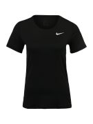 NIKE, Dames Functioneel shirt 'ALL OVER MESH', zwart