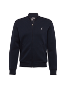 POLO RALPH LAUREN, Heren Sweatvest 'LSBOMBERM3-LONG SLEEVE-KNIT', navy